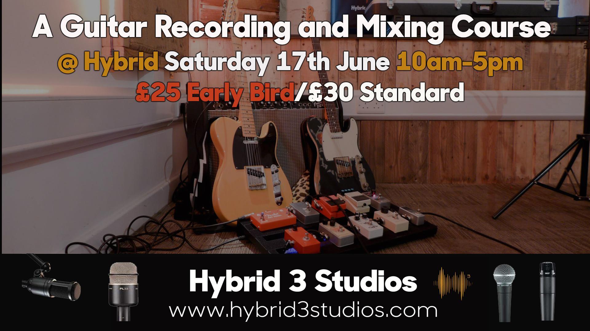 Guitar Recording and Mixing