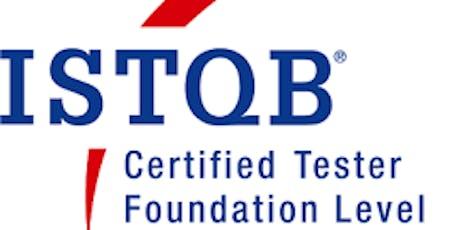 ISTQB® Foundation Training Course (in English) - Copenhagen tickets