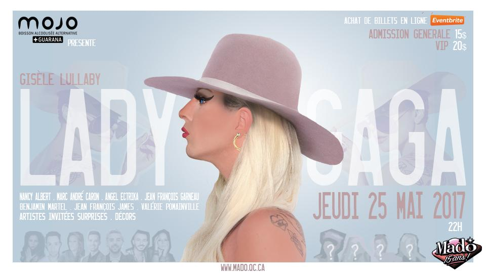 Gisèle Lullaby présente Lady Gaga