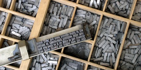ABC's of Letterpress Printing tickets