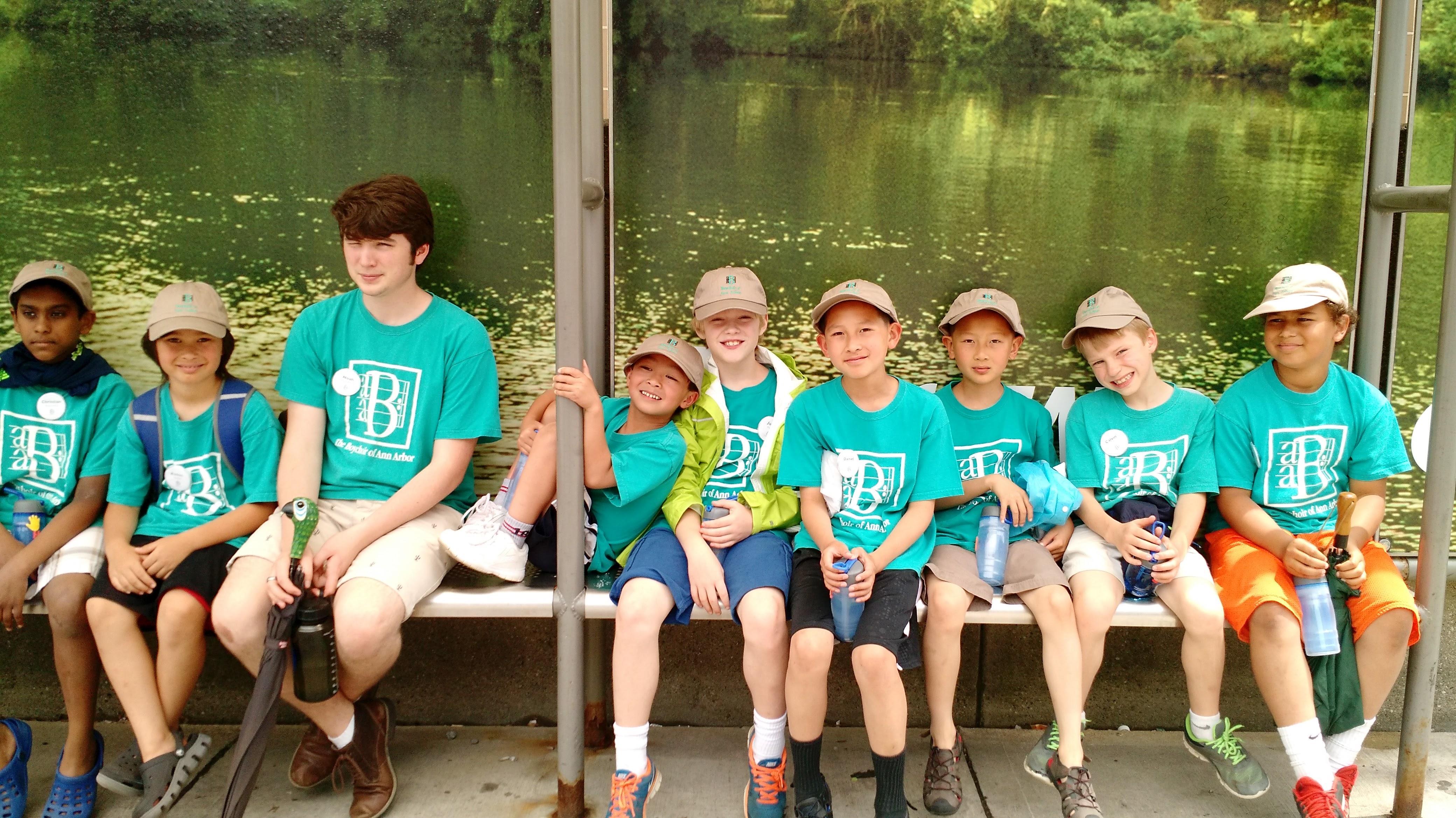 Boys' Summer Singing Camp 2017 | Ann Arbor, MI | St Clare's Episcopal Church | June 19, 2017