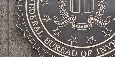 FBI Recruitment Brief tickets