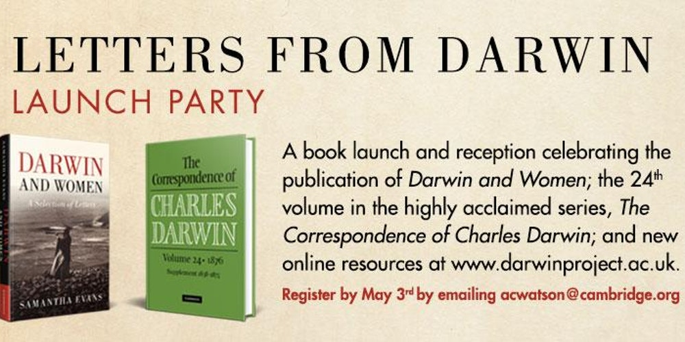 darwin correspondence project Darwin correspondence project access: betty landesman university of baltimore, blandesman@ubaltedu the goal of the darwin correspondence project, established in 1974 and managed by the.