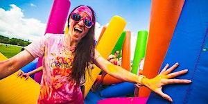 Inflatable Colour Run- Limerick 2017