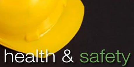 Level 2 Award in Health & Safety - Tuesday 16th July 2019 - WINSFORD 1-5 BID tickets