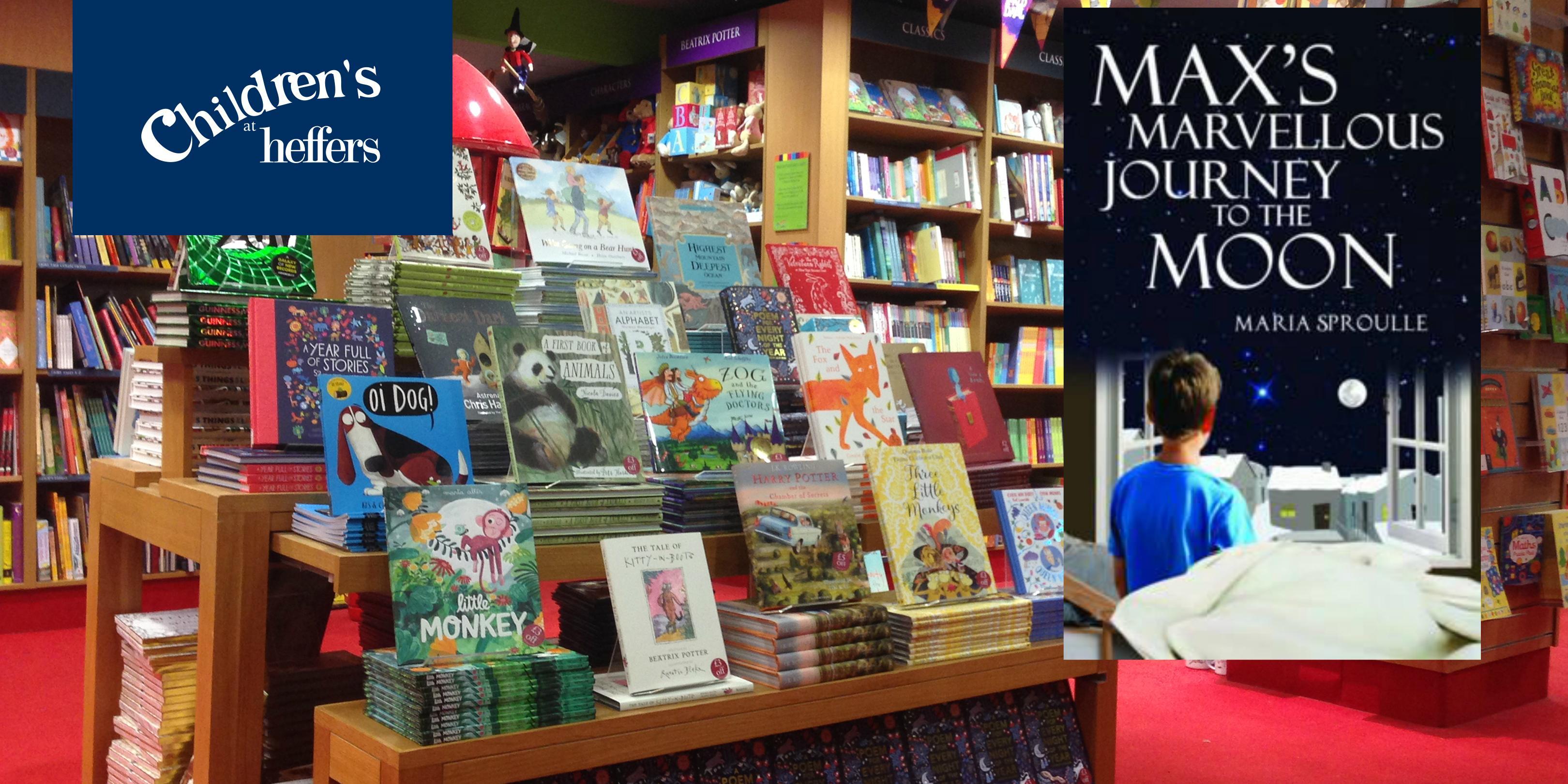 Half Term at Heffers! Max's Marvellous Journe