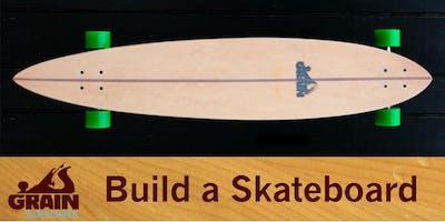 Skateboard-Building Workshop (weekend)