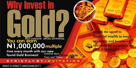 INTERNATIONAL GOLD INVESTMENT CONFERENCE tickets