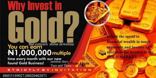 INTERNATIONAL GOLD INVESTMENT CONFERENCE