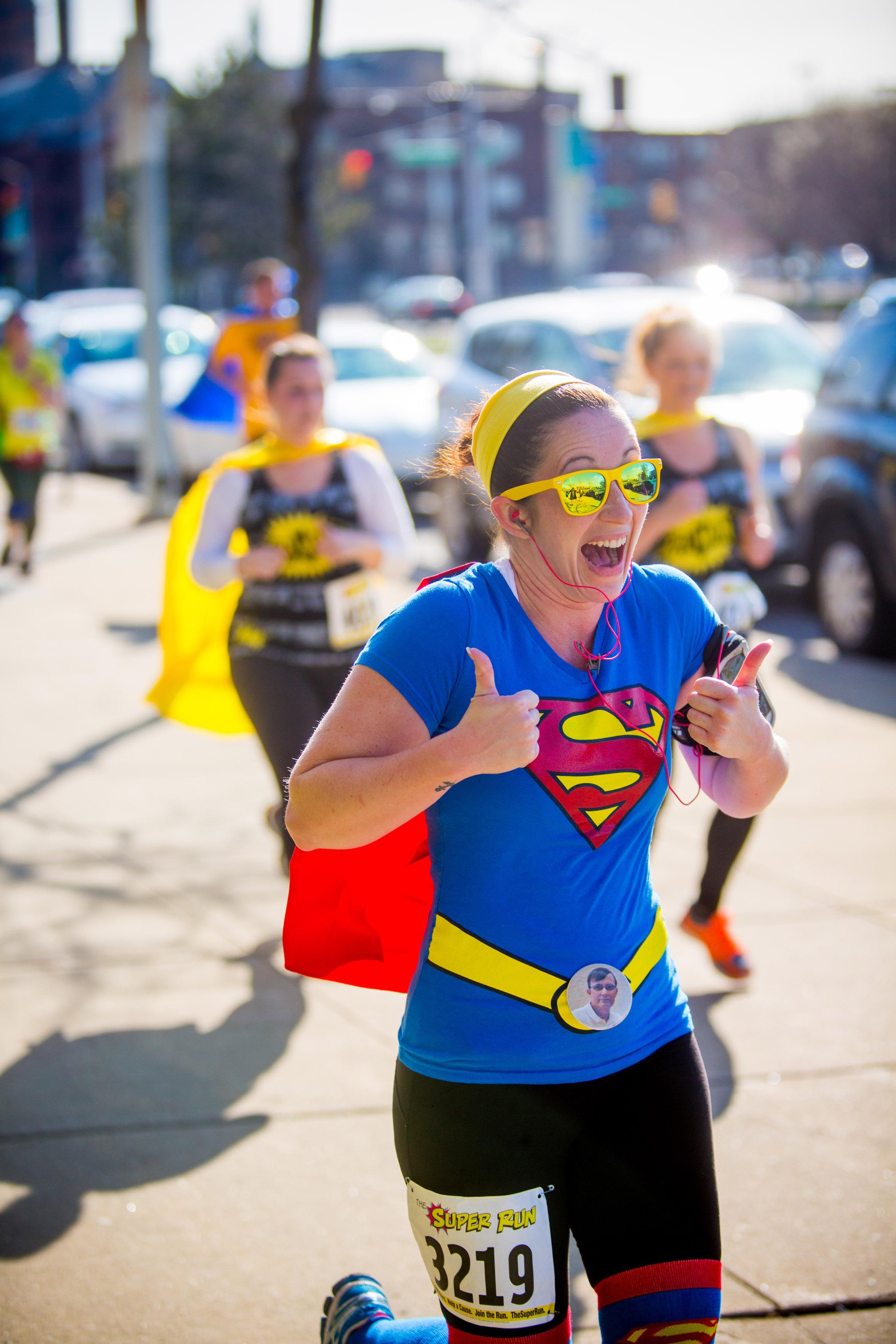 The Super Run 5k - Heroes vs. Villains - Roch