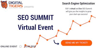 SEO Search Engine Optimization Summit Frankfurt am Main