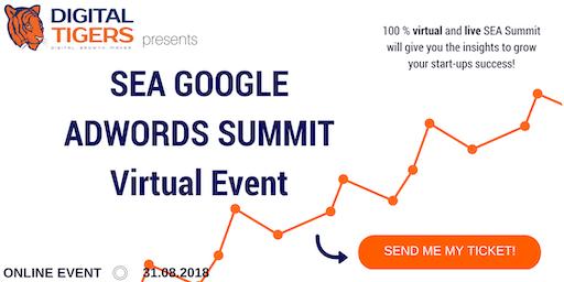 SEA Google Ads (AdWords) Summit Frankfurt am Main