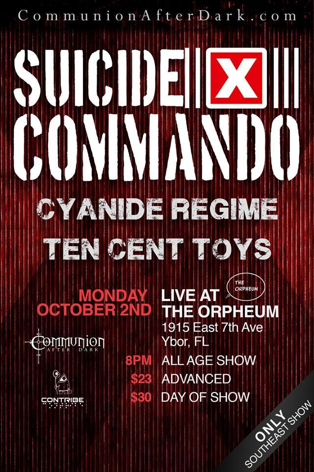 Suicide Commando (ONLY SHOW IN THE SOUTHEAST!)