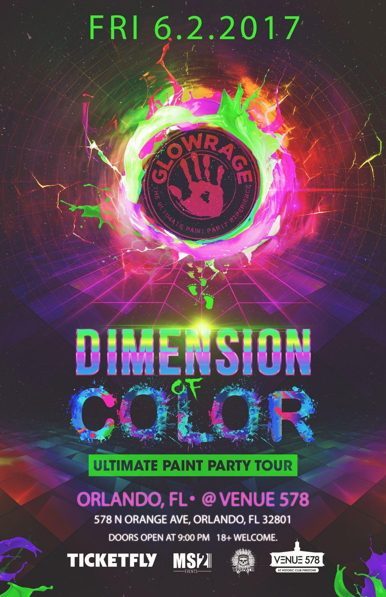 GlowRage Paint Party - Orlando, FL - 6.2.17