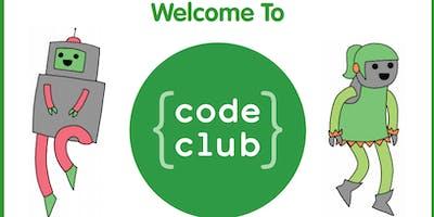 Code Club @Vivacity - Scratch, html and Python (Bretton Library)