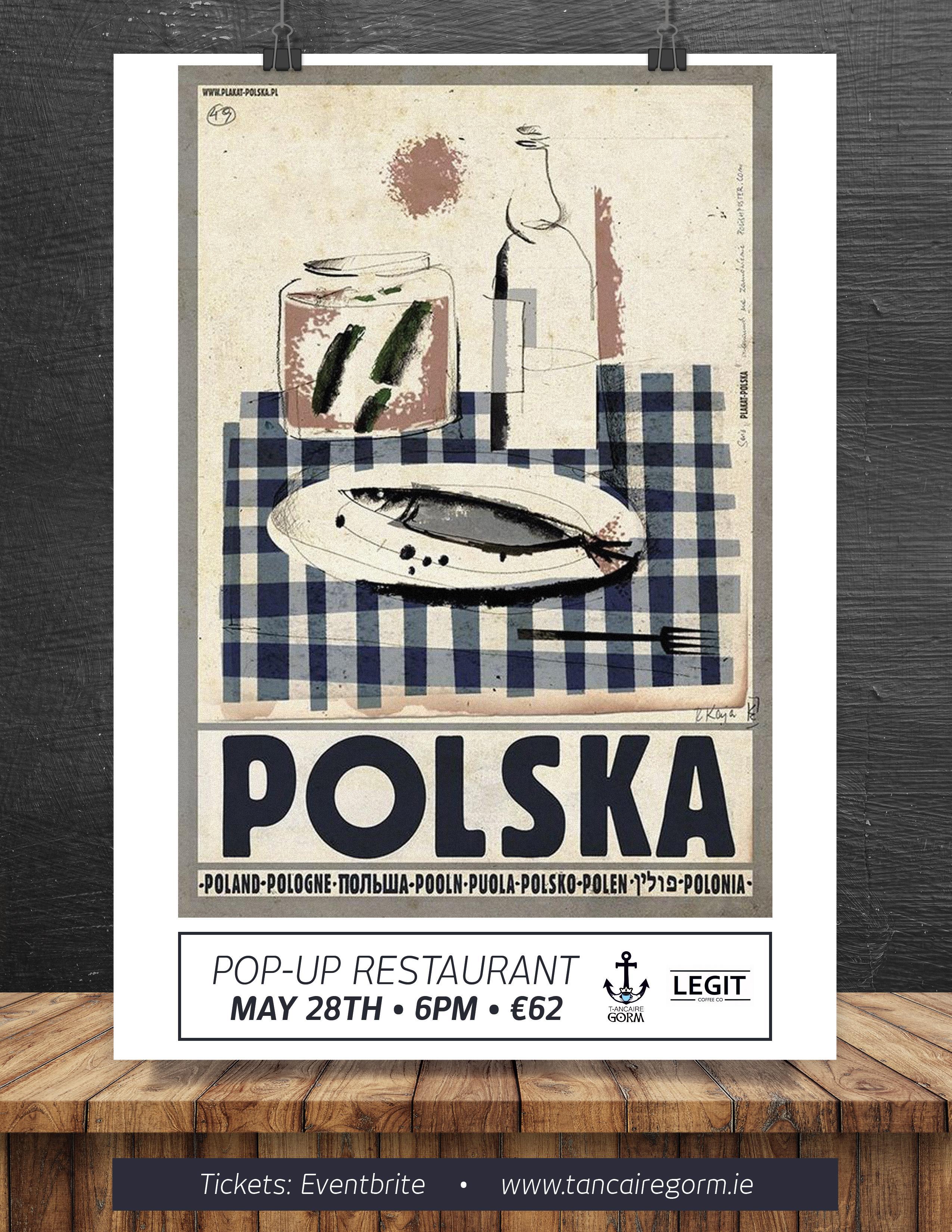 Tour de Pologne. Fine Polish Cuisine Pop-Up