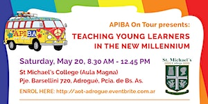 """APIBA On Tour Adrogué: """"Teaching Young Learners in the..."""
