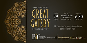 Classic.Events presents The 2017 Summer Great Gatsby...