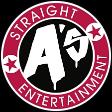 Straight A's Entertainment logo