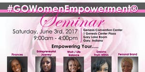 #GOWomenEmpowerment® Seminar sponsored by Achieve...