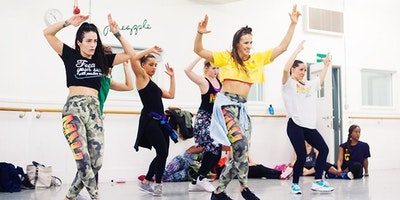 Ferrara Mash It Up Fitness Dancehall Training