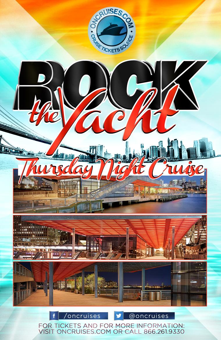 Thursday Night Rock the Yacht Party Cruise. Thursday Night Rock the Yacht Party Cruise