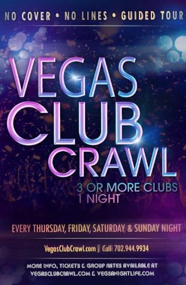 Vegas Club Crawl: Exclusive Sin City Nightclu