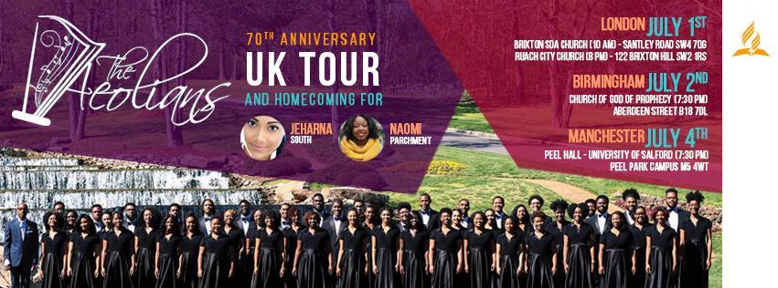Aeolians Gospel Choir - UK Tour 2017 Live in