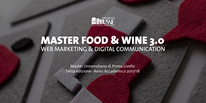 Open day - Master Food & Wine 3.0 - Web Marketing &...