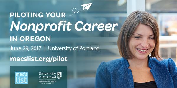 Piloting Your Nonprofit Career in Oregon