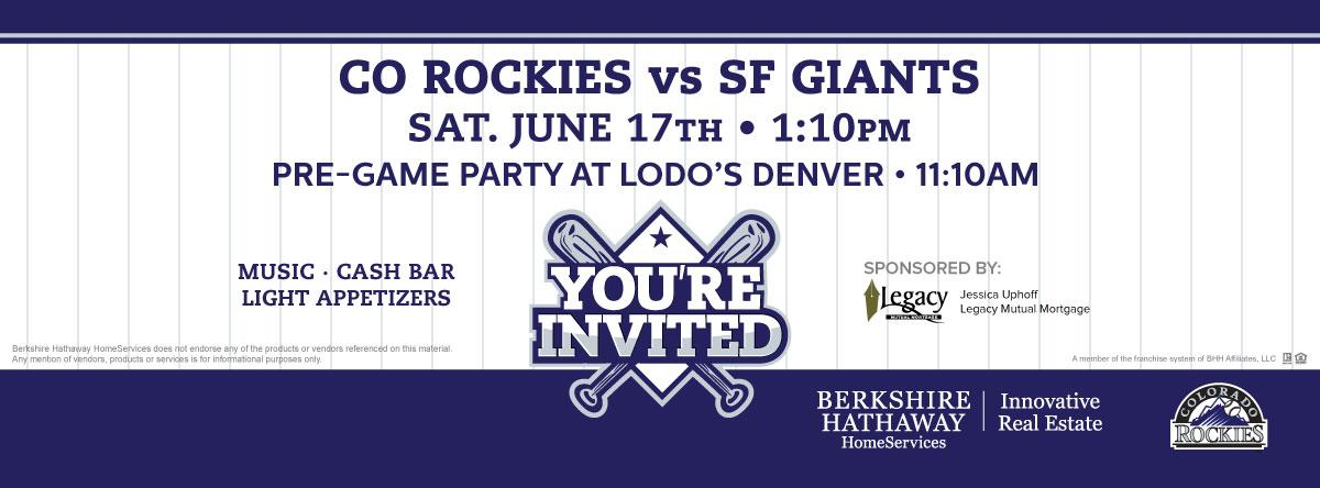 Griffith Home Team Rockies Event 2017