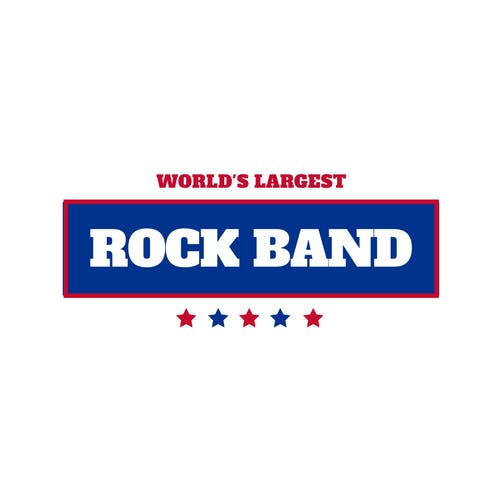 A Guinness World Record Attempt World's Largest Performing Rock Band