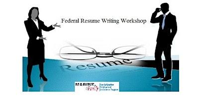 Federal Resume Writing Workshop