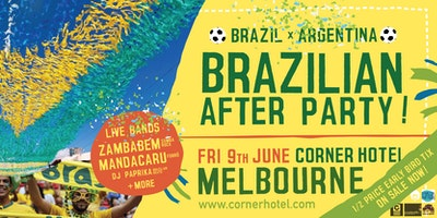 'Brazilian After Party' ft ZAMBABEM, MANDACARU + DJ PAPRIKA