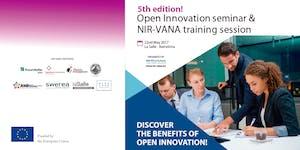 5th edition! Open Innovation seminar & NIR-VANA...
