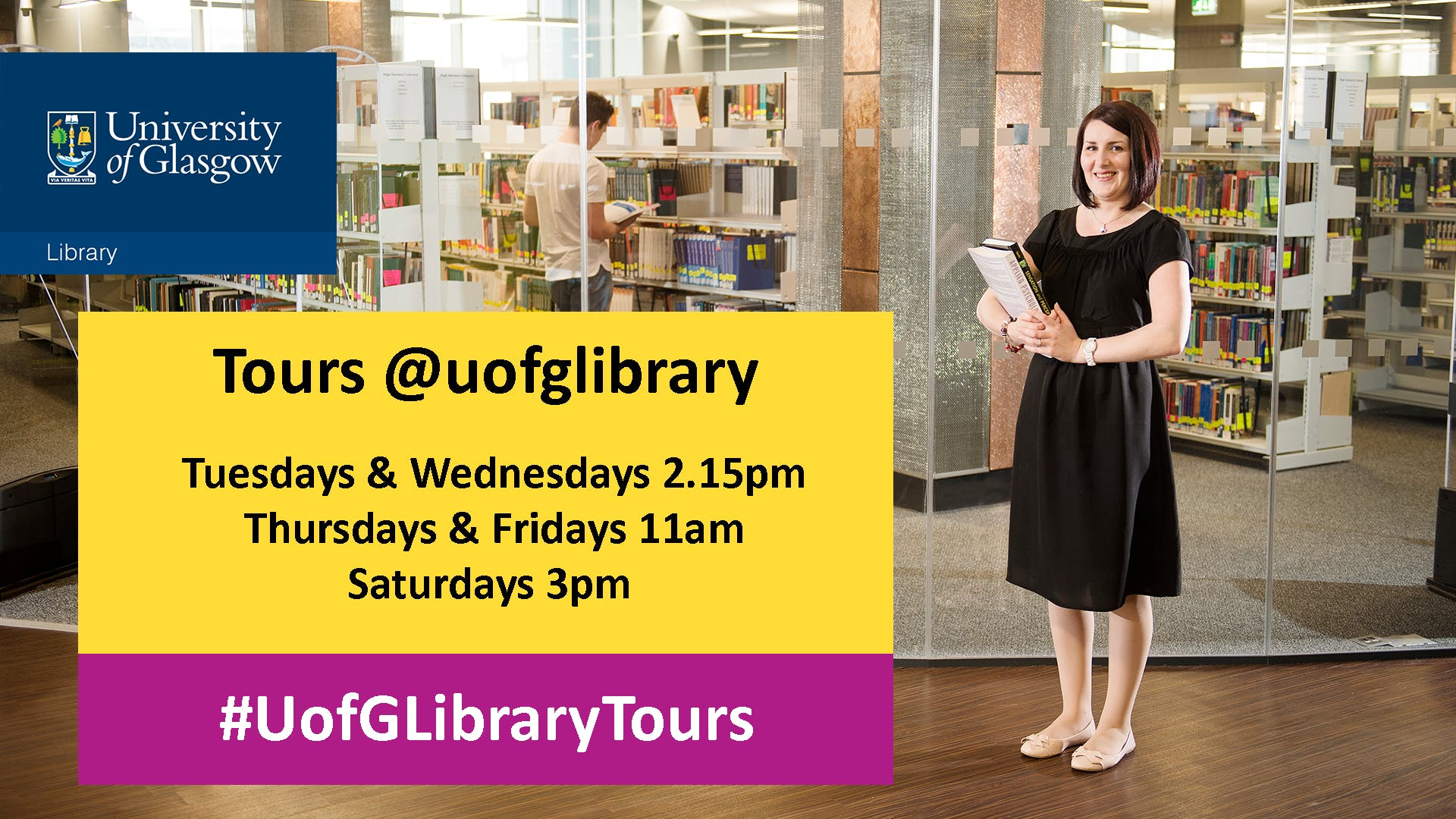Library Tour - Tuesday 2.15pm