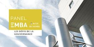 Panel EMBA - Les défis de la gouvernance