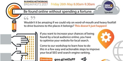 "Inspire Networking Breakfast ""Be found online without spending a fortune!"""