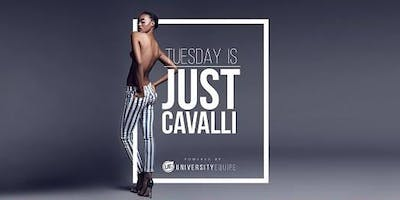 JUST CAVALLI MILANO - MARTEDI 21 MAGGIO 2019 - UNIVERSITY NIGHT - SUMMER SEASON 2019 - LISTA MIAMI - LISTE E TAVOLI AL 338-7338905