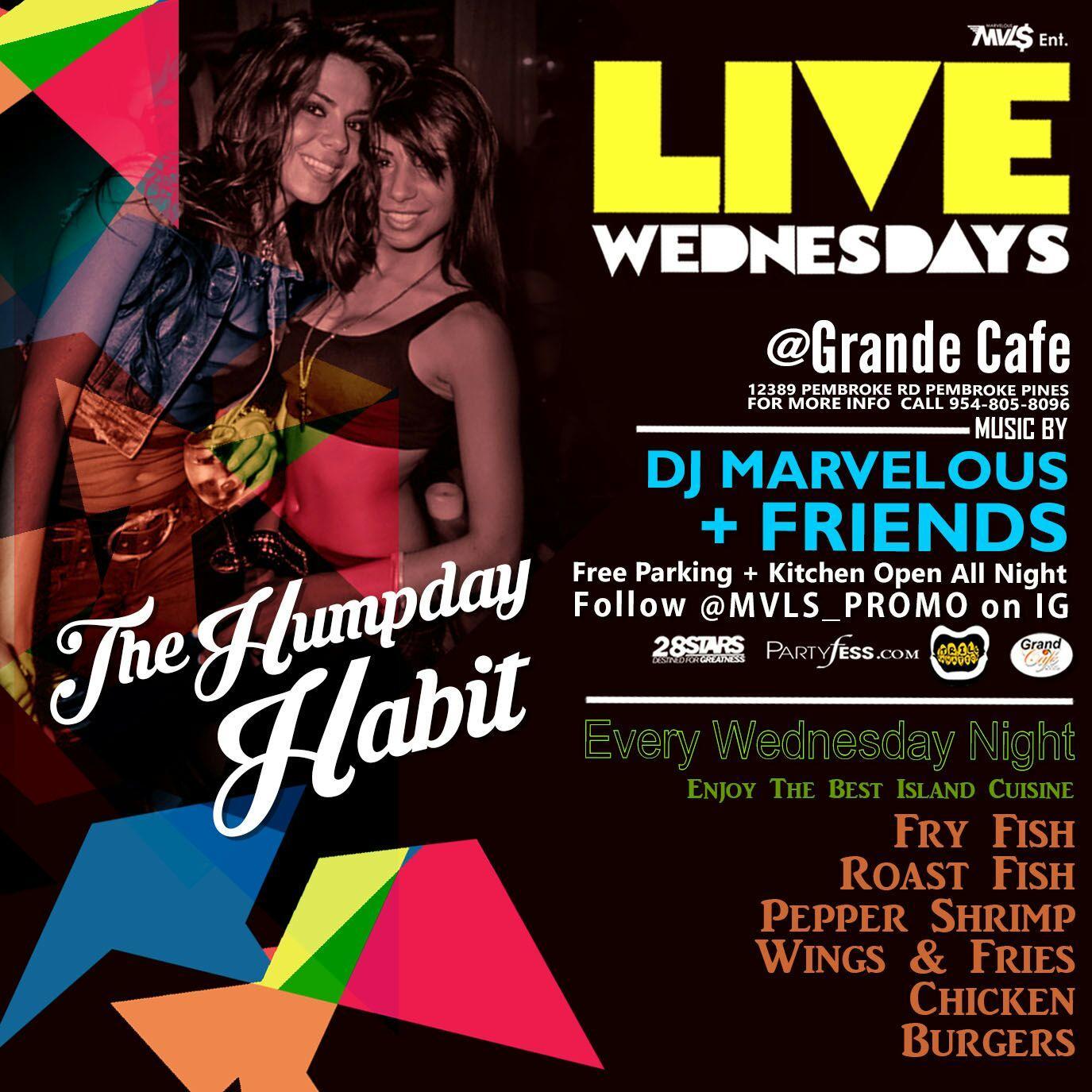 LIVE WEDNESDAYS @ Grand Cafe: Reggae|Dancehall|Hip Hop|Soca. LIVE WEDNESDAYS @ Grand Cafe: Reggae|Dancehall|Hip Hop|Soca