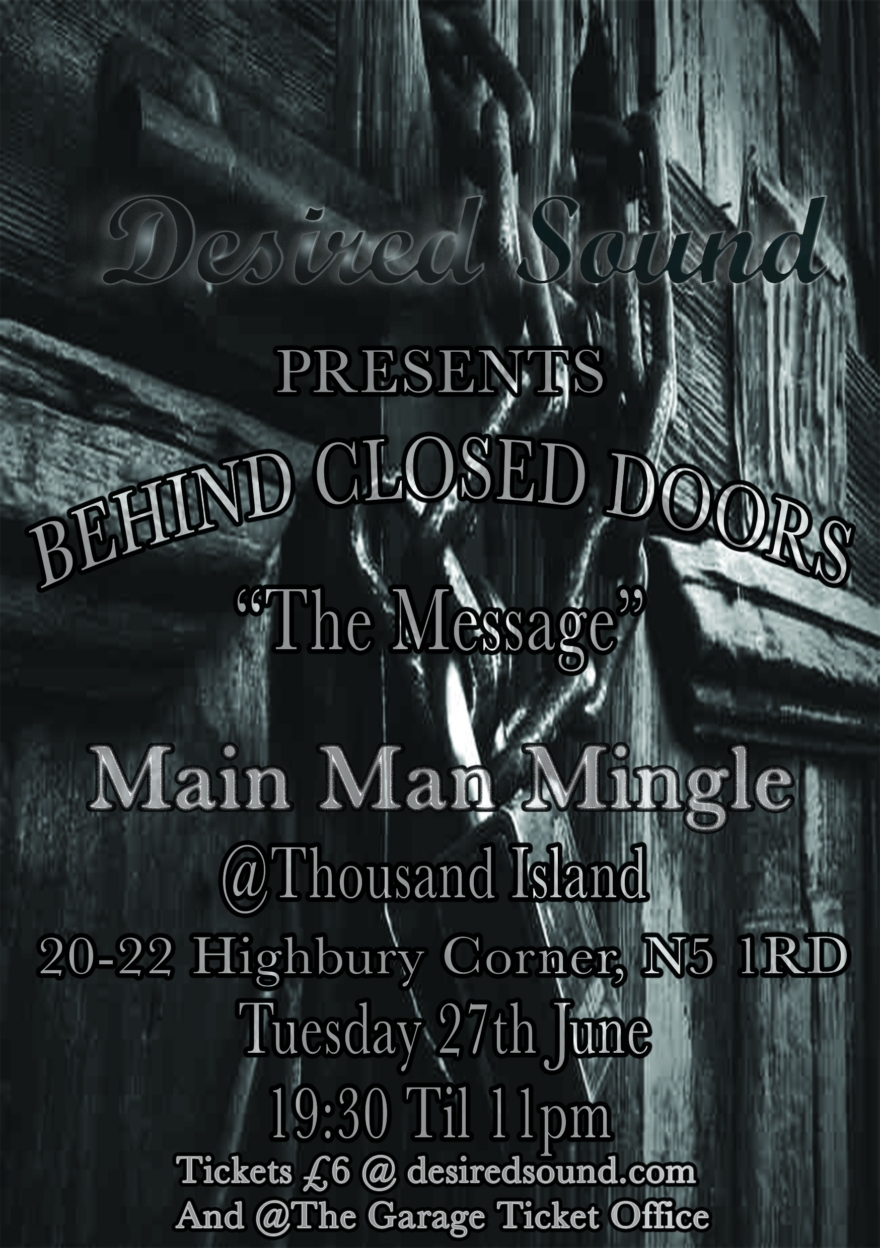 Main Man Mingle Concert (Behind Closed Doors)