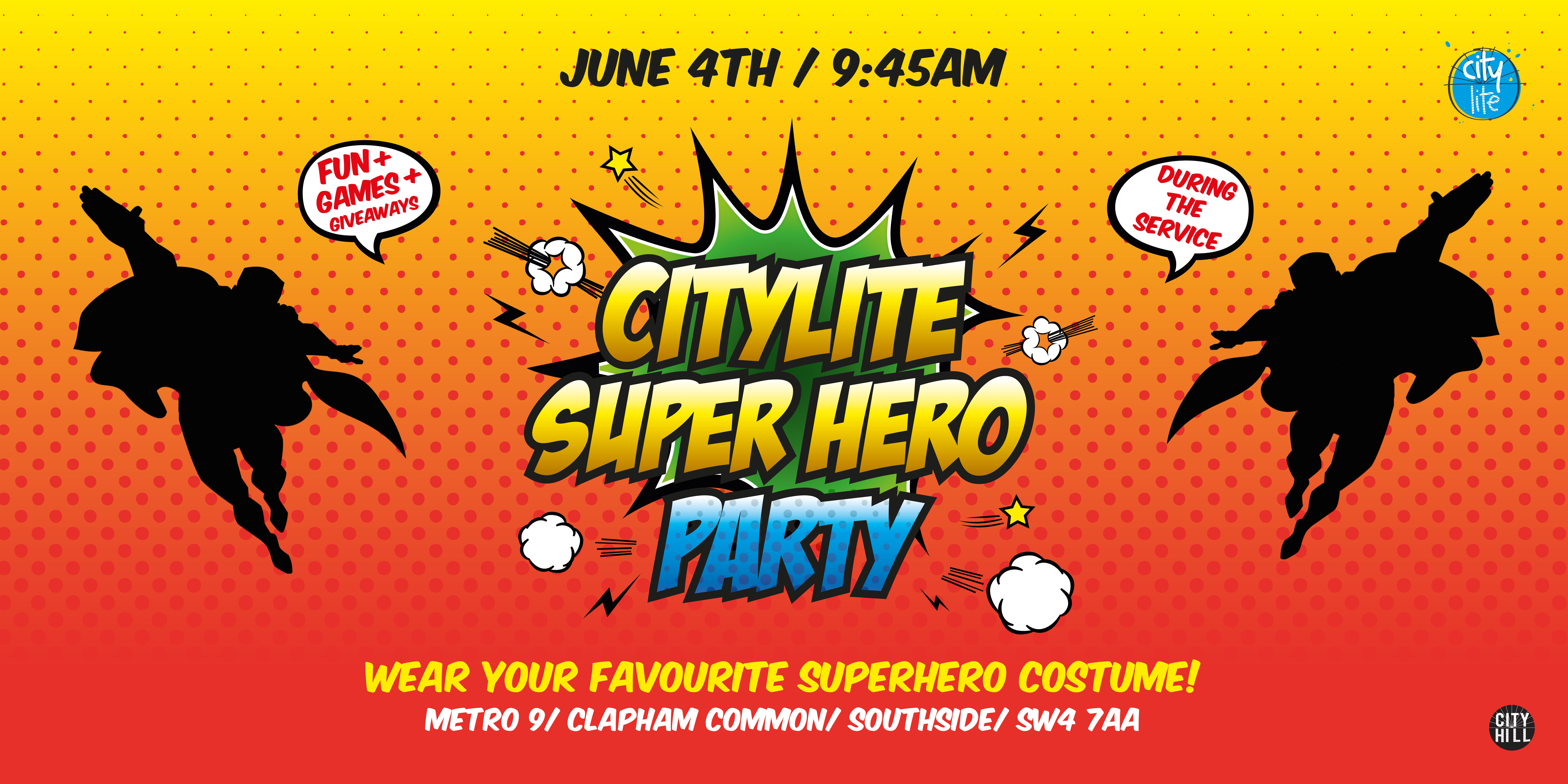 CityLite - Kids Superhero Costume Par-tay
