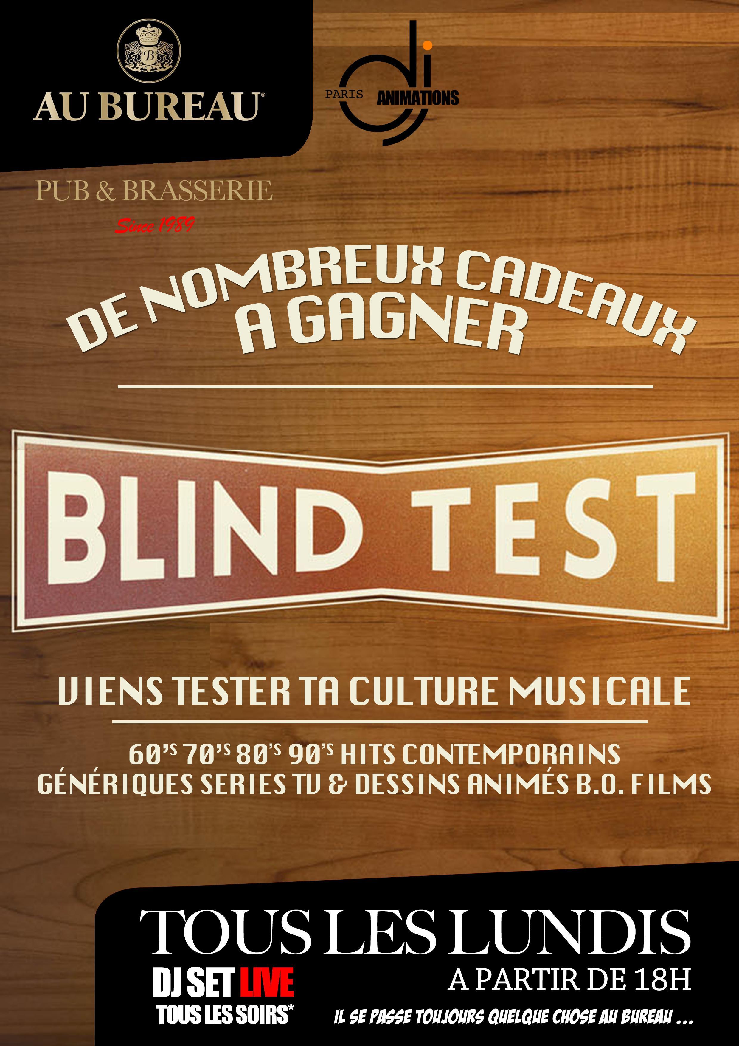 Afterwork Blind Test