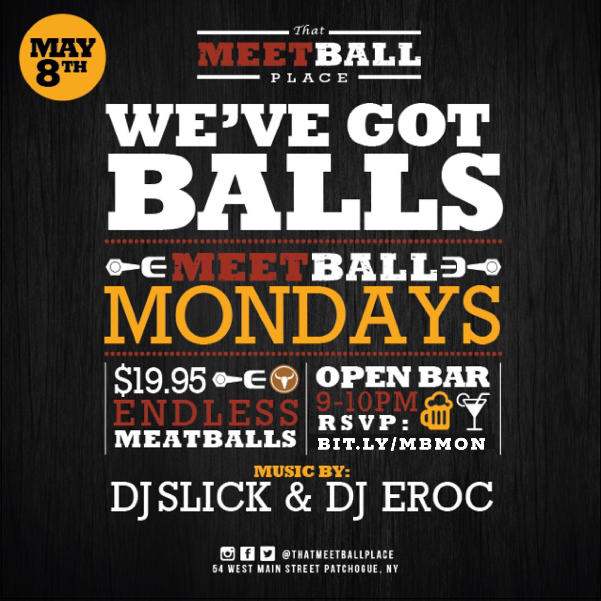 Meetball Mondays