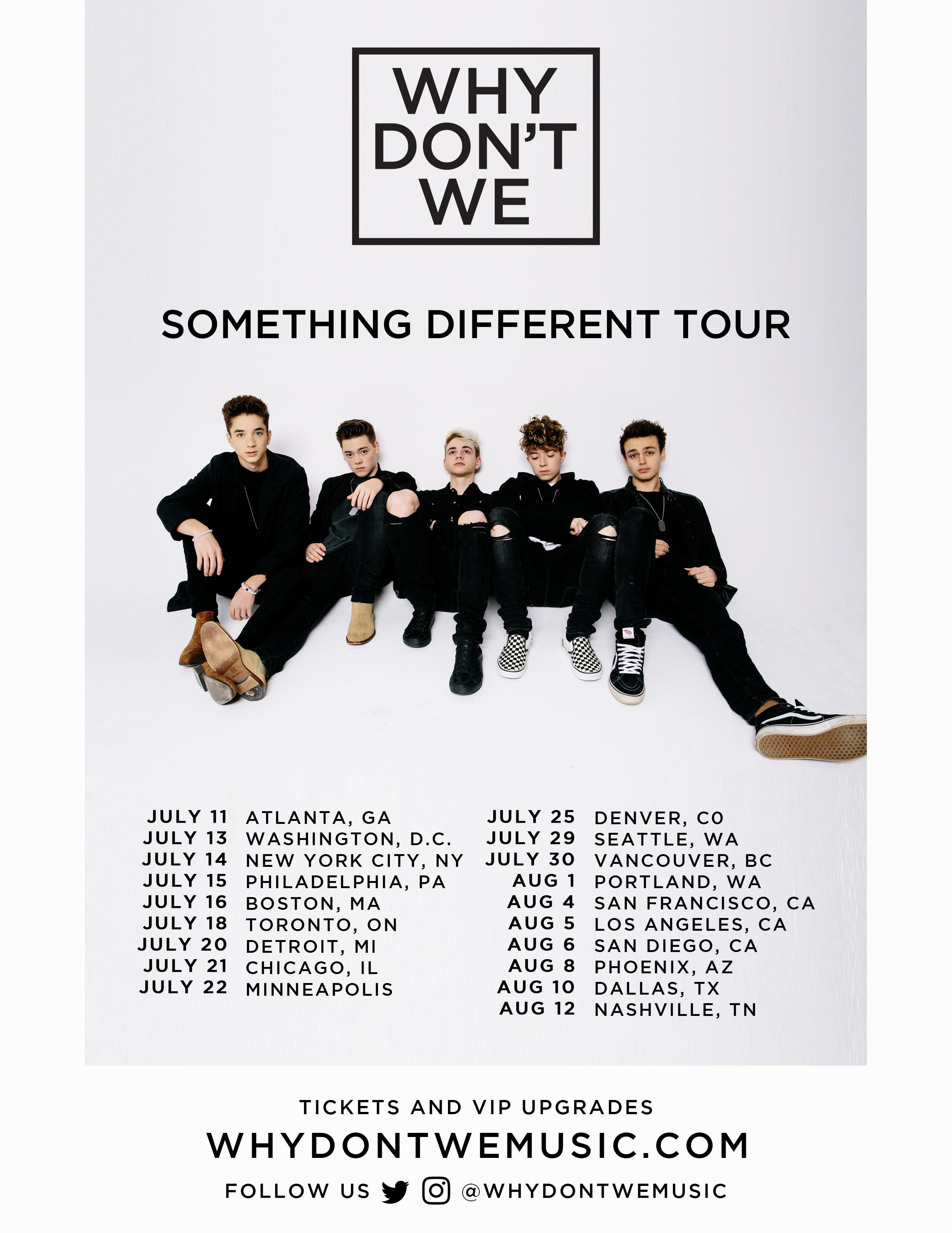 Why Don't We ANOTHER LEVEL VIP Chicago