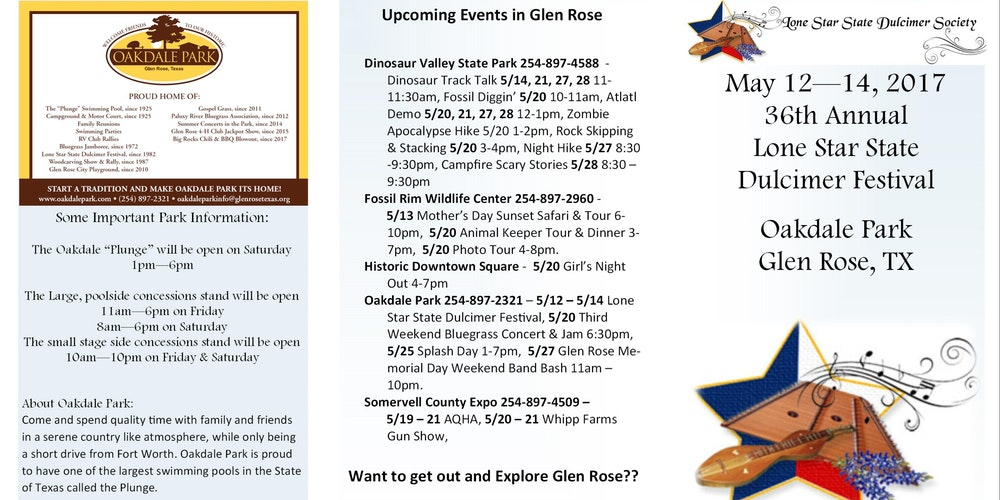 Lone Star State Dulcimer Festival Tickets Sat May At - Why is texas called the lone star state