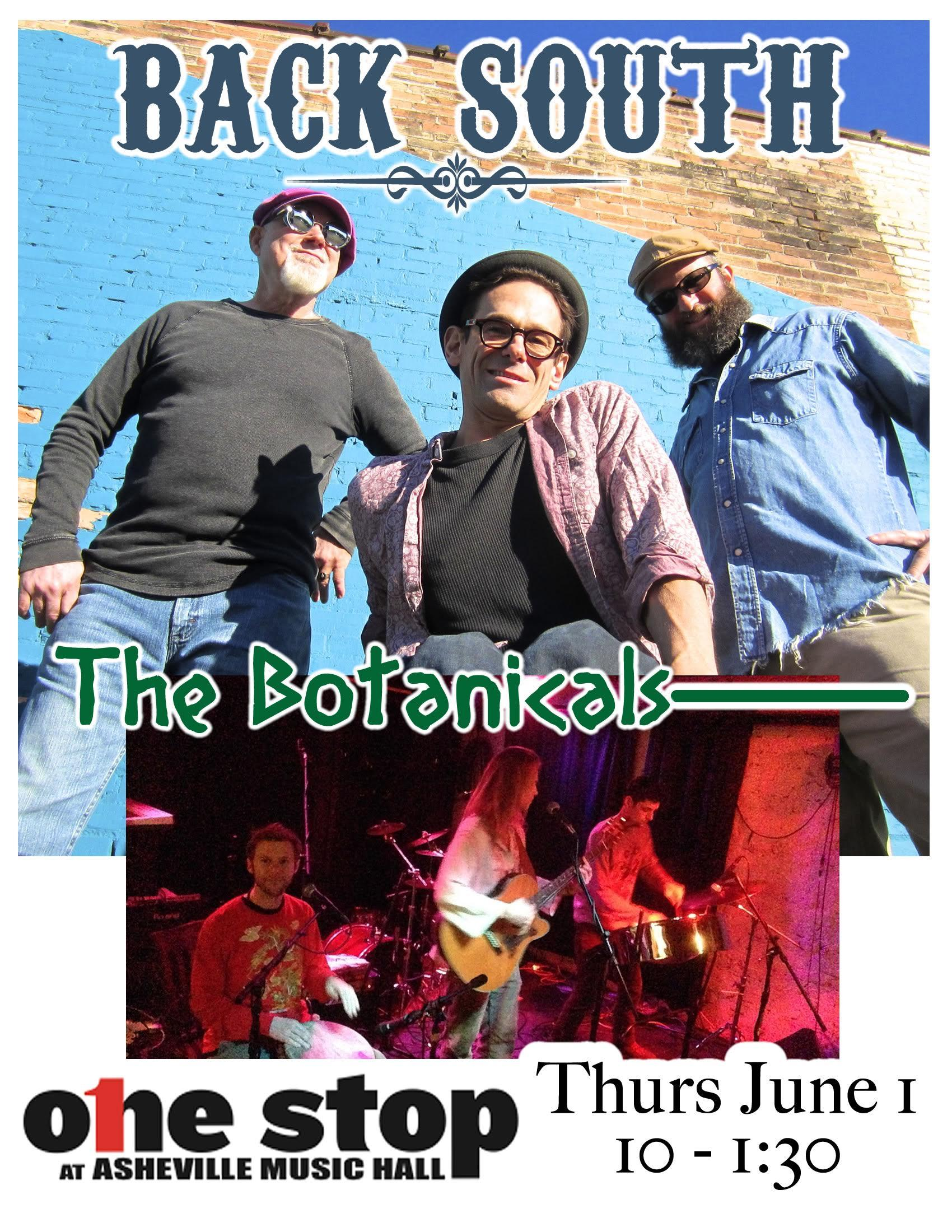 Back South & The Botanicals - [rock]