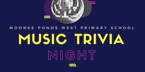 Moonee Ponds West Primary Music Trivia 2017