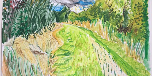 Drawing and Painting Landscapes in Holland Park