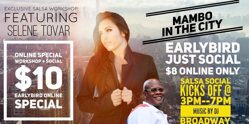 Salsa Work Shop+ Salsa Social@ Mambo In The City!. Salsa Work Shop+ Salsa Social@ Mambo In The City!